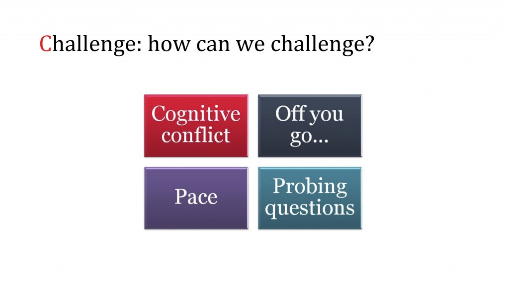 How to challenge in science