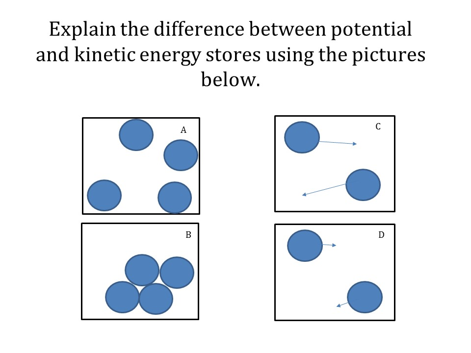 Internal Energy on Potential And Kinetic Energy Worksheet